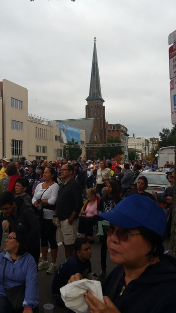 Pope Visit, Salvation Army volunteers, from Eric Becker, Philadelphia, Sept 2015 (164)