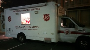 Pope Visit, Salvation Army volunteers, from Eric Becker, Philadelphia, Sept 2015 (25)