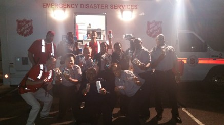 Pope Visit, Salvation Army volunteers, from Eric Becker, Philadelphia, Sept 2015 (66)