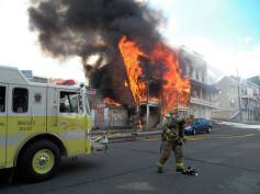 Structure Fire, photos courtesy Bill N Tonia, Ashland, 10-18-2015 (2)