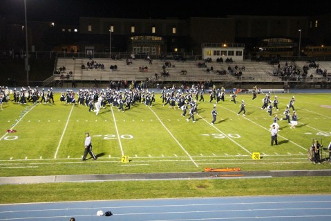 Tamaqua Area Homecoming Game, King and Queen, Sports Stadium, Tamaqua, 10-16-2015 (27)
