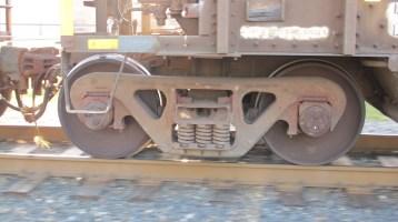 Train Passing in front of Tamaqua Train Station, Tamaqua, 9-15-2015 (17)