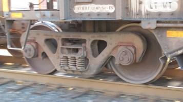 Train Passing in front of Tamaqua Train Station, Tamaqua, 9-15-2015 (20)