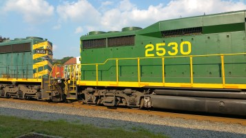 Train Through Tamaqua, 9-1-2015 (4)