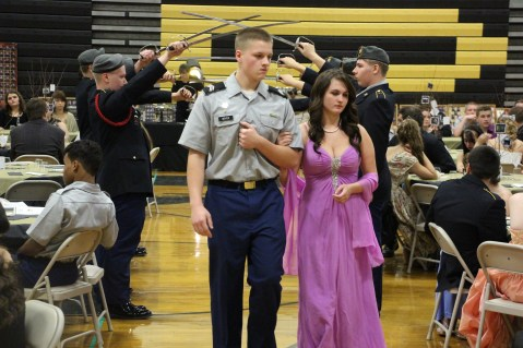 100th Anniversary Celebration of Panther Valley JROTC, PV High School, Lansford, 11-14-2015 (19)