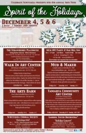 12-4, 5, 6-2015, Spirit of the Holidays, Schuylkill County Visitors Bureau