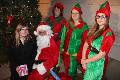 Coaldale Holiday Tree Lighting, Via C.H.O.S.E., Borough Hall, Coaldale, 11-29-2015 (38)