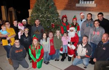 Coaldale Holiday Tree Lighting, Via C.H.O.S.E., Borough Hall, Coaldale, 11-29-2015 (84)