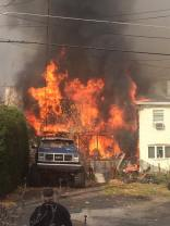 Four Homes Damaged by Fire, Walnut Street, from Katie Schreck, Ashland, 11-6-2015 (2)