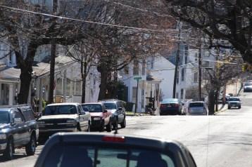 Hit And Run Investigated, Rowe Street, North Lehigh Street, Tamaqua, 11-16-2015 (13)