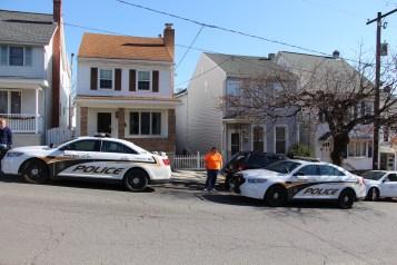 Hit And Run Investigated, Rowe Street, North Lehigh Street, Tamaqua, 11-16-2015 (14)