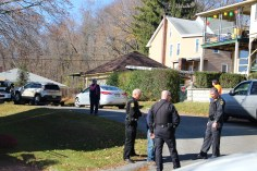 Hit And Run Investigated, Rowe Street, North Lehigh Street, Tamaqua, 11-16-2015 (7)