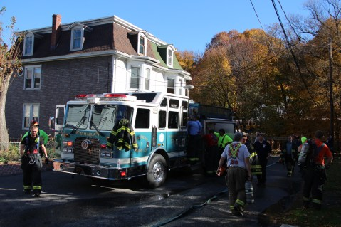 House Fire, 208 Biddle Street, Tamaqua, 11-4-2015 (12)
