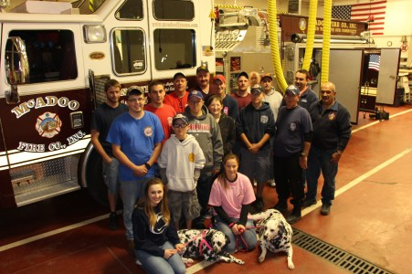 Open House, Fire Prevention Awareness, McAdoo Fire Company, McAdoo, 10-7-2015 (42)