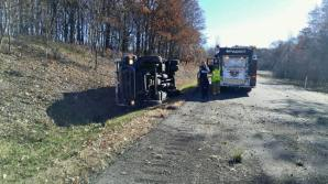 Overturned Armored Vehicle, Possible Confinement, Interstate 81, Kline Township, 11-3-2015