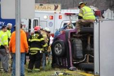Overturned Vehicle, SR309, Hometown, 11-28-2015 (8)