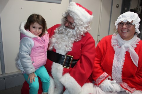 Santa Gathering, after Parade, Frank Fabrizio's House, in Brockton, 11-28-2015 (33)