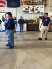 Tamaqua Salvation Army Youth Group Visits South Ward Fire Company, Tamaqua, 10-8-2015 (208)