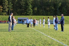 Tamaqua Soccer Senior Recognition, Soccer Field, Tamaqua Area High School, Tamaqua, 10-7-2015 (2)