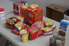 Tamaqua Troop, Pack, 777, Collecting, Sorting, Donations, Salvation Army, Tamaqua, 11-14-2015 (45)