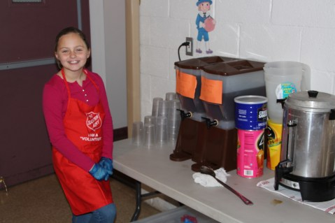 Thanksgiving Day Meal, Deliveries, Tamaqua Salvation Army, Tamaqua, 11-26-2015 (201)