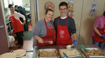 Thanksgiving Day Meal, Deliveries, Tamaqua Salvation Army, Tamaqua, 11-26-2015 (9)