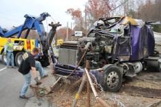 Tractor Trailer Overturns, US209, SR93, Nesquehoning, 11-5-2015 (59)