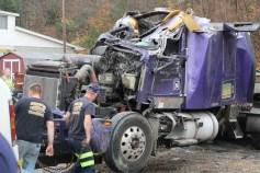 Tractor Trailer Overturns, US209, SR93, Nesquehoning, 11-5-2015 (67)