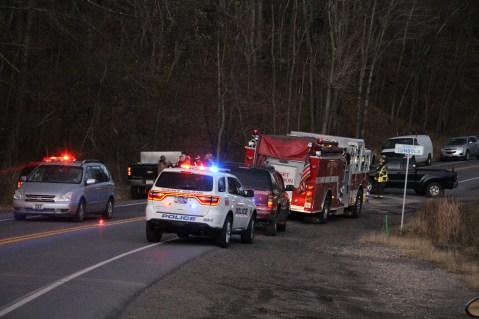 Two Vehicle Accident, US209, East Norwegian Township, 11-13-2015 (1)