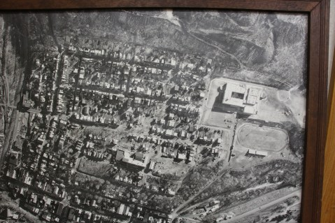 Aerial Photograph of Tamaqua, Borough Hall, Tamaqua, 1970s (61)