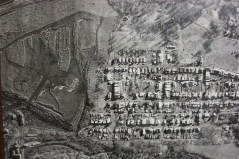 Aerial Photograph of Tamaqua, Borough Hall, Tamaqua, 1970s (88)