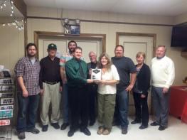 Black Diamond Award, Lansford Alive, submitted, at American Legion, Lansford, 12-11-2015 (11)