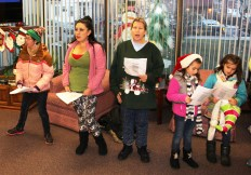 Community Members, Volunteers with Tamaqua Community Arts Center Sing Carols, Tamaqua (10) - Copy