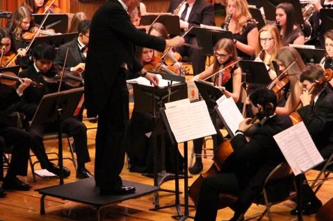 Holiday Concert via Gabriel Youth Orchestra, Lengel Auditorium, Pottsville MS (45)