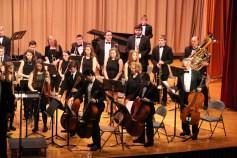 Holiday Concert via Gabriel Youth Orchestra, Lengel Auditorium, Pottsville MS (60)