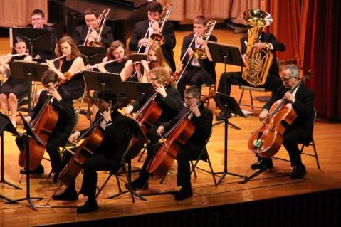 Holiday Concert via Gabriel Youth Orchestra, Lengel Auditorium, Pottsville MS (9)