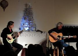 Jay Smar performs, Summit Hill Heritage Center, Summit Hill, 12-11-2015 (13)