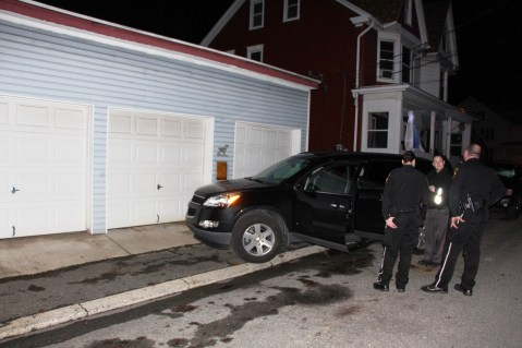 Police Chase, Stolen Vehicle, Rolling Mill Avenue, Tamaqua, 12-24-2015 (33)