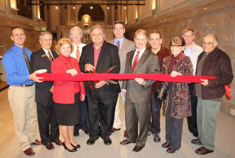 Ribbon Cutting for Renovations to Tamaqua Historical Society Museum, Tamaqua, 12-18-2015 (110)