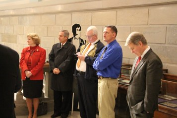 Ribbon Cutting for Renovations to Tamaqua Historical Society Museum, Tamaqua, 12-18-2015 (28)