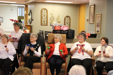 SA Bell Choir, St Luke's Hospital, Coaldale (27)