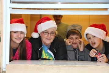 Santa Claus Visits Dam, Festival at Owl Creek, Tamaqua, 12-12-2015 (39)
