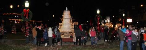 Santa Parade and Park Illumination, Depot Square Park, Tamaqua, 12-4-2015 (54)