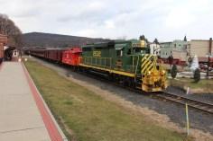 Santa Train Rides, via Tamaqua Historical Society, Train Station, Tamaqua, 12-19-2015 (106)
