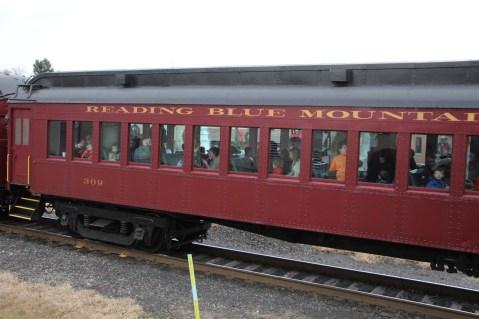 Santa Train Rides, via Tamaqua Historical Society, Train Station, Tamaqua, 12-19-2015 (118)