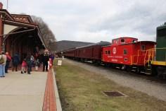 Santa Train Rides, via Tamaqua Historical Society, Train Station, Tamaqua, 12-19-2015 (15)