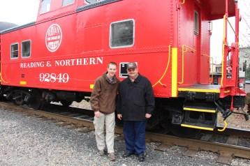 Santa Train Rides, via Tamaqua Historical Society, Train Station, Tamaqua, 12-19-2015 (75)