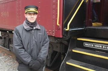 Santa Train Rides, via Tamaqua Historical Society, Train Station, Tamaqua, 12-19-2015 (95)