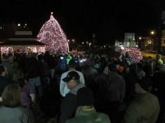 Tree Lighting, Spirit of Christmas Festival, Depot Square Park, Tamaqua, 12-6-2015 (41)