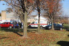 Two Vehicle Accident, Lafayette Avenue, SR54, Hometown, 12-10-2015 (2)